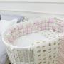 Постельный комплект ComfortBaby Короны розовый