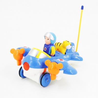 Детский радиоуправляемый синий самолетик Cartoon Airplane - 6609