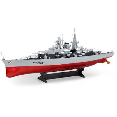 Радиоуправляемый корабль Heng Tai линкор Бисмарк 1:360 2.4G - HT-3827B