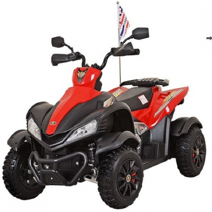 Детский спортивный электроквадроцикл Dongma ATV Red 12V - DMD-268A