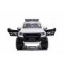 Детский электромобиль Ford Ranger Raptor Police с мигалками - DK-F150RP-WHITE