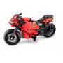 Конструктор радиоуправляемый CADA deTech гоночный мотоцикл (29 см, 2 двигателя, 484 детали) - C51024