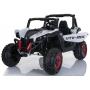 Двухместный полноприводный электромобиль White UTV-MX Buggy 12V 2.4G - XMX603-W