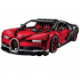 Конструктор Lepin 20086B Bugatti Chiron (красный) - Technic 42083