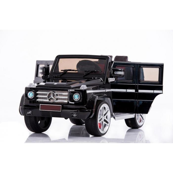 Радиоуправляемый детский электромобиль Mercedes Benz G55 Luxury Black 12V 2.4G - DMD-178-LUX