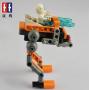 Конструктор Double E Cada Technics, боевой робот, 103 детали - C54004W