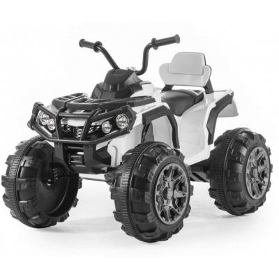 Детский квадроцикл Grizzly ATV White 12V с пультом управления 2.4G- BDM0906