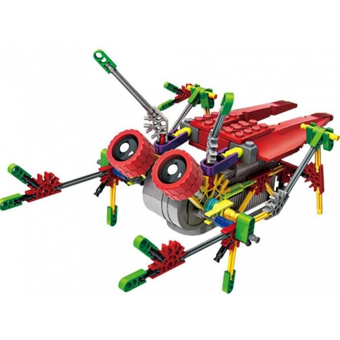 "Конструктор на батарейках LOZ Робот-муха ""Цикада"" 122 детали - LOZ-3014"
