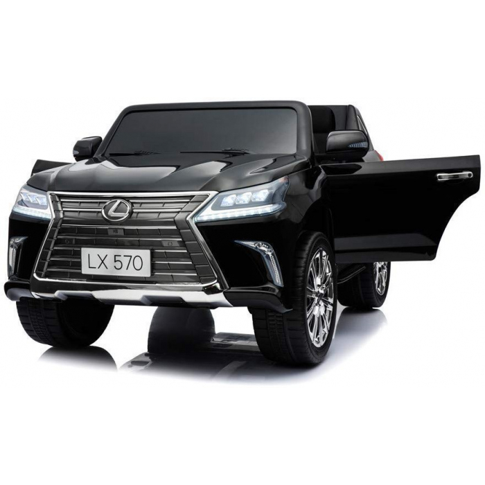 Детский электромобиль Lexus LX570 4WD MP3 - DK-LX570-BLACK-PAINT
