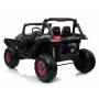 Двухместный полноприводный электромобиль Black Carbon UTV-MX Buggy 12V MP4 - XMX603-BLACK-PAINT-MP4