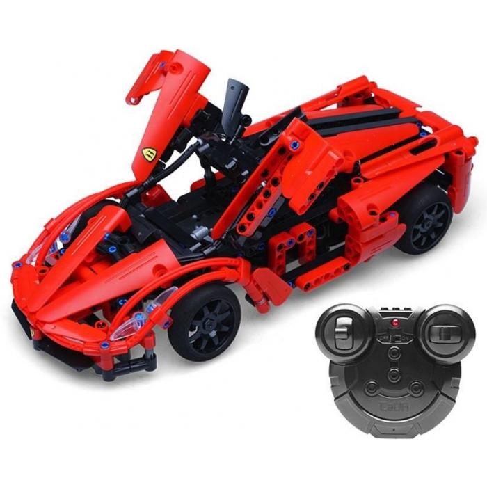 Конструктор Double E Cada Technics, спорткар, 380 деталей, пульт управления - C51009W