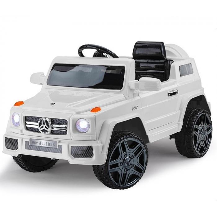 Детский электромобиль Mercedes G Style 12V - HL-1058-WHITE