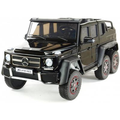 Двухместный электромобиль детский Mercedes Benz G63 6x6 4WD - ABL1801-BLACK-PAINT