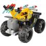Конструктор Double E Cada Technics, квадроцикл, 164 детали, инерционная модель - C52004W