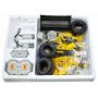 Конструктор CADA deTech радиоуправляемый колесный погрузчик (491 деталь) - C51058W