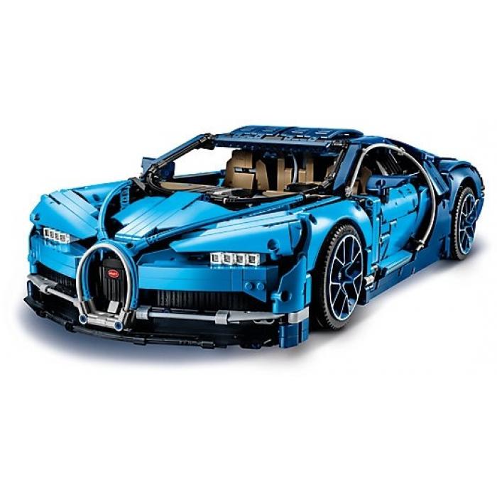 Конструктор Lepin 20086 Bugatti Chiron (синий) - Technic 42083