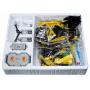 Конструктор CADA deTech радиоуправляемый гусеничный экскаватор (544 детали) - C51057W