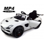 Электромобиль Mercedes-Benz SLS AMG White MP4 - SX128-S-MP4