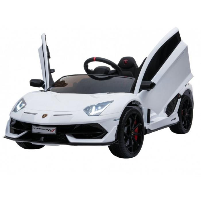 Детский электромобиль Lamborghini SVJ 12V - WHITE - HL328
