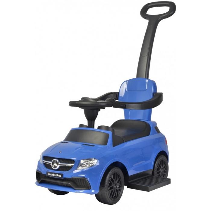 Толокар с ручкой Mercedes-Benz AMG GLE63 Blue - CLB3288