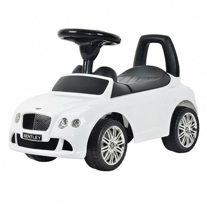 Толокар каталка Bentley Continental GTC V8 White - CLB326