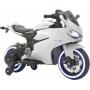 Детский электромотоцикл Ducati White 12V - FT-1628-WHITE-PL
