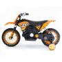 Детский кроссовый электромотоцикл Qike TD Orange 6V - QK-3058-ORANGE