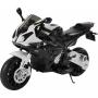 Детский электромотоцикл BMW S1000PR Black 12V - JT528