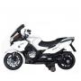 Детский электромобиль мотоцикл BMW R1200RT White 12V - HZB-118