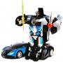 Радиоуправляемый трансформер MZ Bugatti Veyron Blue 1:22 - 2331X