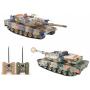 Радиоуправляемый танковый бой Huan Qi Abrams vs Abrams 1:24 2.4G - HQ558