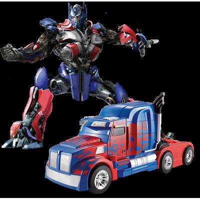 """Радиоуправляемый робот-трансформер JQ Troopers Savage """"Оптимус Прайм"""" - TT669"""