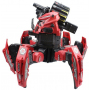 Радиоуправляемый робот-паук Space Warrior с пульками, дисками и лазерным прицелом 2.4G - KY9007-1