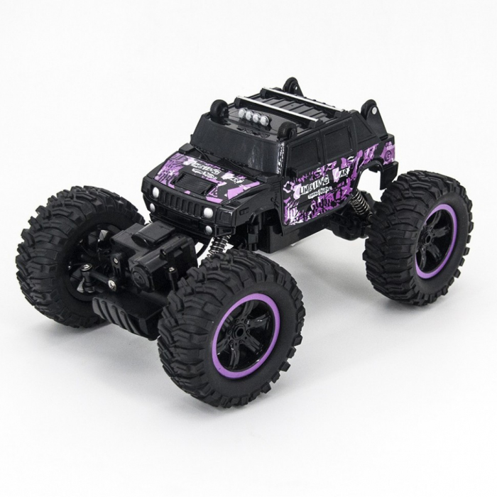Радиоуправляемый краулер Hummer H2 Purple 1:14 2.4G - MZ-2848