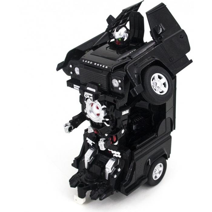 Радиоуправляемый трансформер MZ Land Rover Defender Black 1:14 - 2805P-B