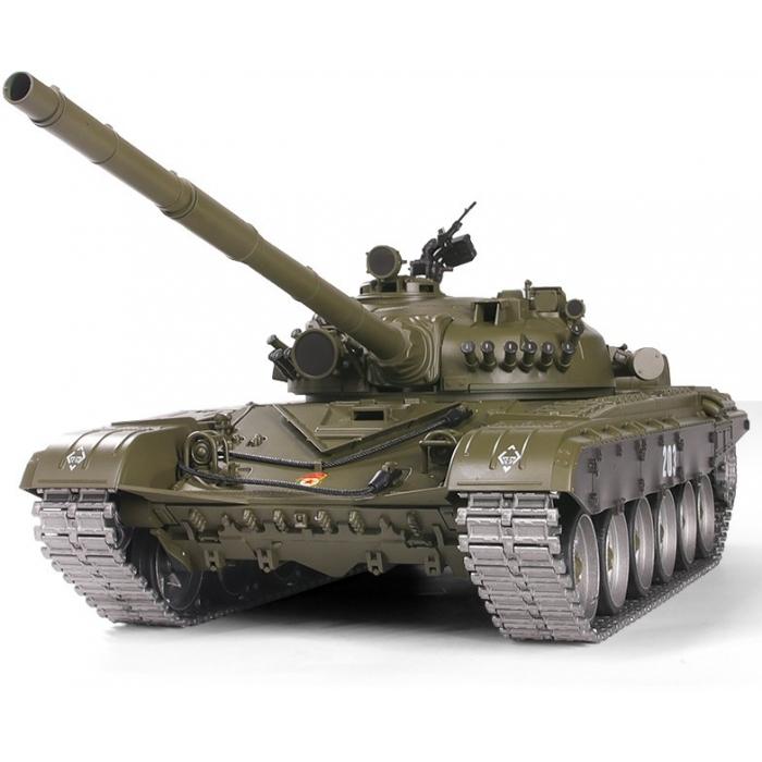 Радиоуправляемый танк Heng Long Russian T-72 PRO 1:16 (ИК+Пневмо) 2.4G - 3939-1PRO-MS V6.0