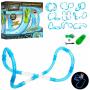 Радиоуправляемый гоночный трек в трубе (светится в темноте) - 022-2