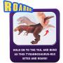 Интерактивный робот Динозавр Тираннозавр на батарейках - RS6179