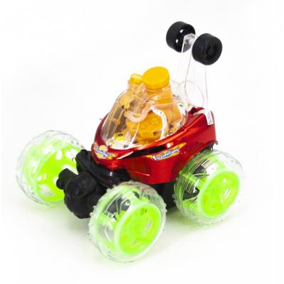 Радиоуправляемая трюковая машина-перевертыш RENDA (29 см, красный, мыльные пузыри) - RD970-3