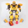 Радиоуправляемый робот трансформер, стреляет дисками - 6021 / ZYB-B2739