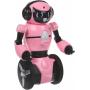 Розовый робот WL toys F4 c WiFi FPV камерой, управление через APP - WLT-F4-PINK