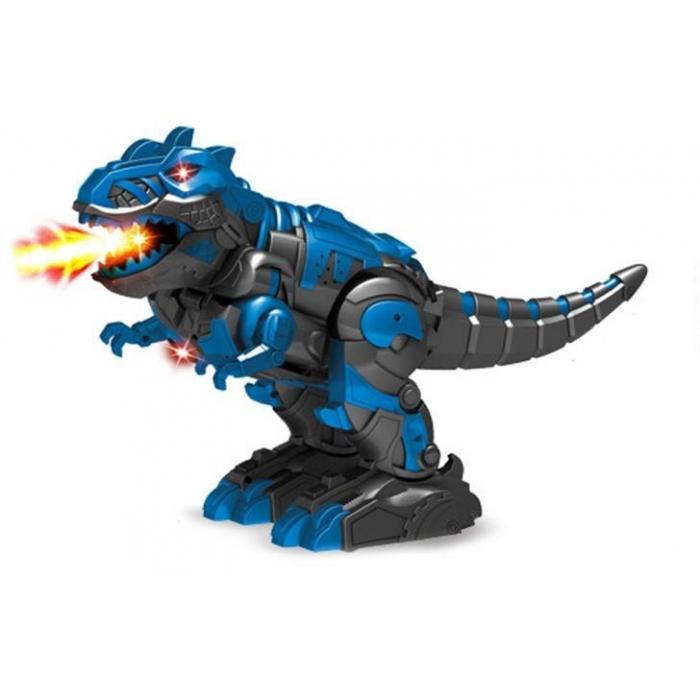 Радиоуправляемый робот трансформер 2 в 1 (робот и динозавр с паром) - DT-6033