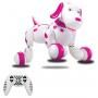 Радиоуправляемая робот-собака HappyCow Smart Dog Pink - 777-338-P