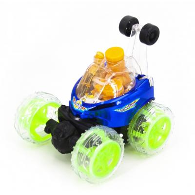 Радиоуправляемая трюковая машина-перевертыш RENDA (29 см, синий, мыльные пузыри) - RD970-3