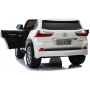 Детский электромобиль Lexus LX570 4WD MP4 - DK-LX570-WHITE-MP4