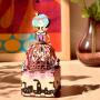"""Деревянный 3D конструктор - музыкальная шкатулка Robotime """"Princess"""" - AM405"""