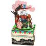"""Деревянный 3D конструктор - музыкальная шкатулка Robotime """"Forest Concert"""" - AM404"""