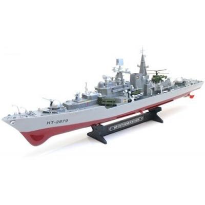Радиоуправляемый корабль Heng Tai эскадренный миноносец Smasher 1:275 2.4G - HT-2879B