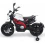 Детский электромотоцикл Harley Davidson - DLS01-WHITE-RED