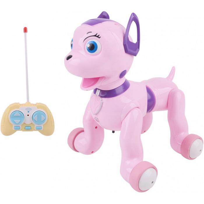 Радиоуправляемая Собачка долматинец, розовый - ZYB-B2997-5